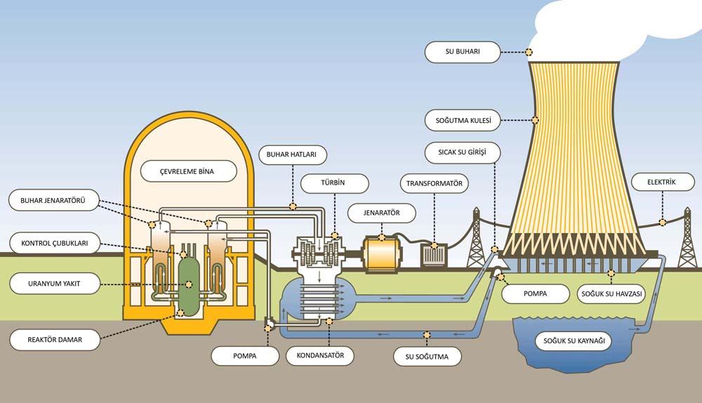 nükleer enerji santralleri nasıl çalışır ile ilgili görsel sonucu